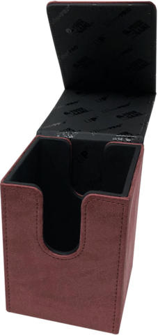 Ultra Pro Alcove FLIP Deck Box - Suede Ruby