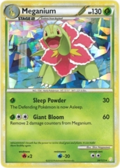 Meganium 26/123 Cracked Ice Holo Promo - HeartGold & SoulSilver Series Collection Exclusive