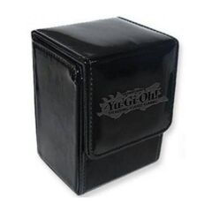 Konami Yu-Gi-Oh ION BLACK LEATHER DECK BOX