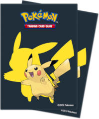 Ultra Pro Standard Size Pokemon Sleeves - 2019 Pikachu - 65ct