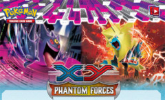 Pokemon XY4 Phantom Forces Reverse Holo Set
