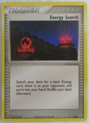 Energy Search 9/10 Non-Holo Promo - Latios Trainer Kit Exclusive