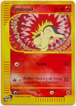 Cyndaquil - 105/165 - Common - Reverse Holo