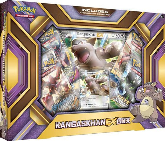 Pokemon Kangaskhan EX Collection Box