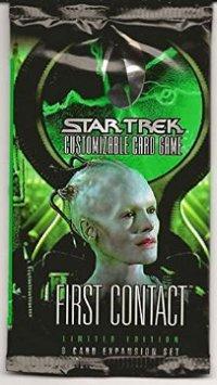 Star Trek CCG First Contact Booster Pack
