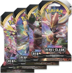 Pokemon SWSH2 Rebel Clash Sleeved Booster Case (144ct)
