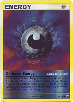 Darkness Energy (Special) - 93/100 - Uncommon - Reverse Holo