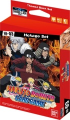 Naruto Boruto Card Game NB-03 - Hokage Set