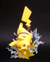 Pikachu Figure - Pikachu Red & Blue Collection