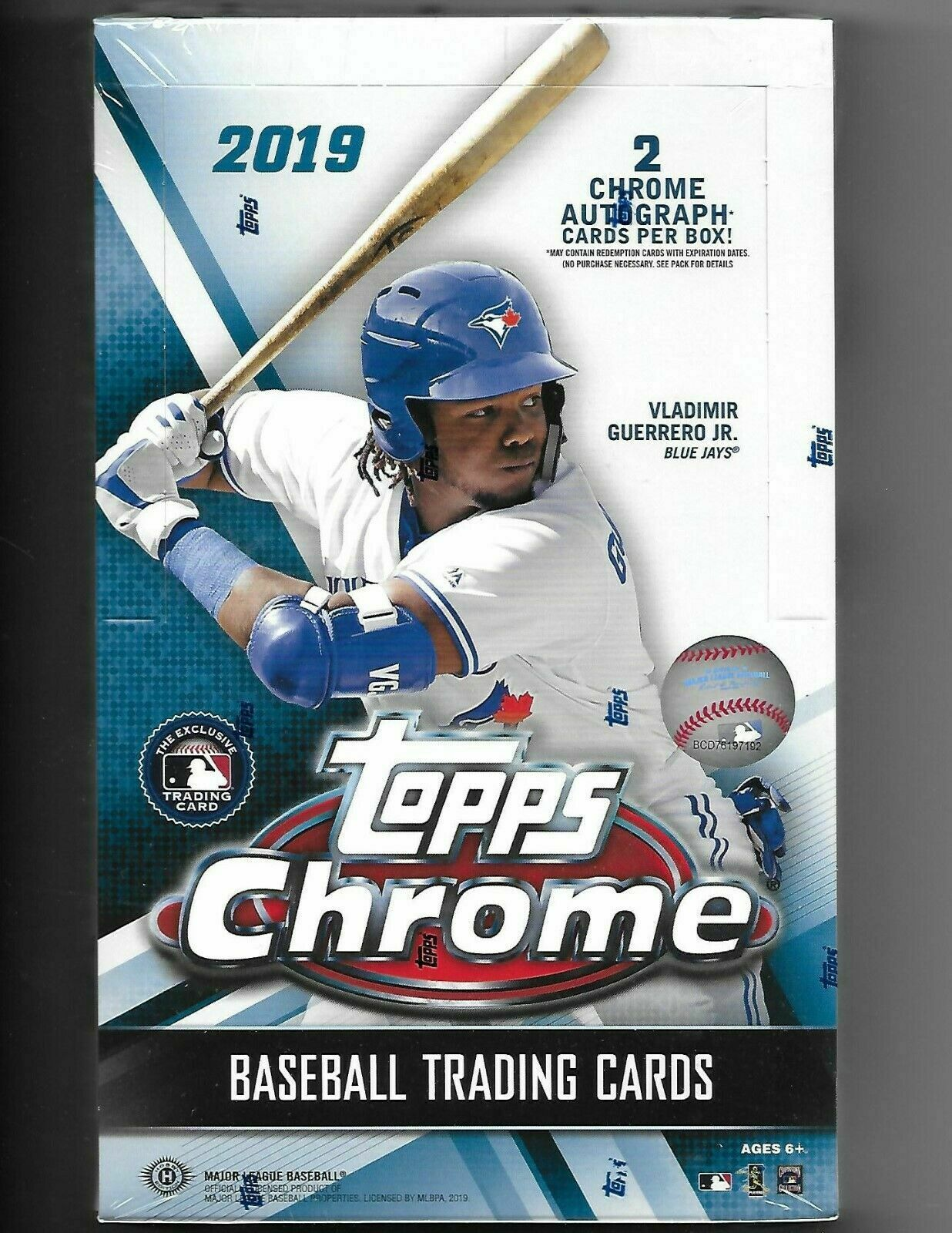 Topps 2019 Chrome Hobby 6 Packs /& 1 Rookie Auto or Parallel