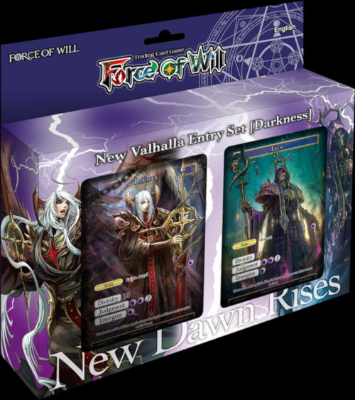 factory sealed darkness New Valhalla Entry Set - English Force of will