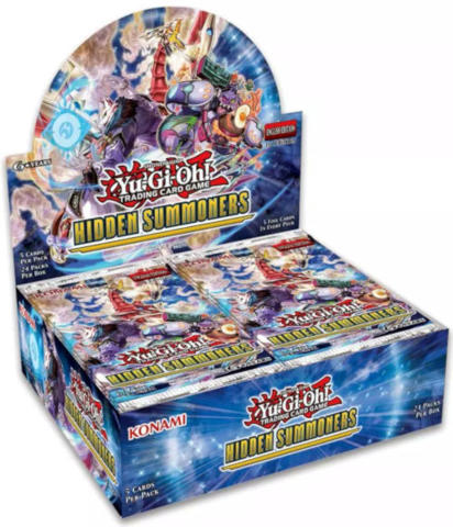 Yu-Gi-Oh Hidden Summoners 1st Edition Booster Box