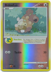 Bidoof - 73/123 - Common - Reverse Holo
