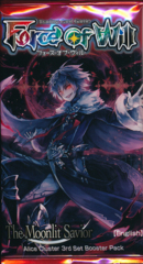 Force of Will The Moonlit Savior Booster Pack