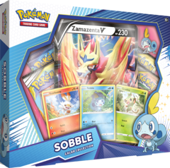 Pokemon Galar Collection Box - Sobble with Zamazenta