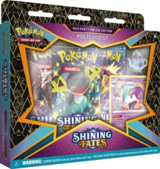 Pokemon Shining Fates Mad Party Pin Collection - Polteageist