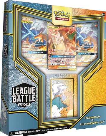 Pokemon League Battle Deck - Reshiram & Charizard-GX