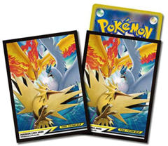 Japanese Pokemon Sun & Moon SM10b Articuno, Zapdos & Moltres Sleeves - 64ct