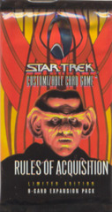 Star Trek CCG Rules of Acquisition Booster Pack