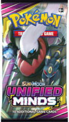 Pokemon Sun & Moon SM11 Unified Minds Booster Pack