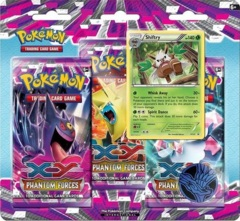 Pokemon XY4 Phantom Forces 3-Booster Blister Pack - Shiftry Promo