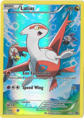 Latias XY78 Full-Art Holo Promo - Pikachu Legendary Collection Exclusive