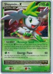 Shaymin Lv.X DP39 Cosmos Holo Promo - 2009 Collector's Tins Exclusive