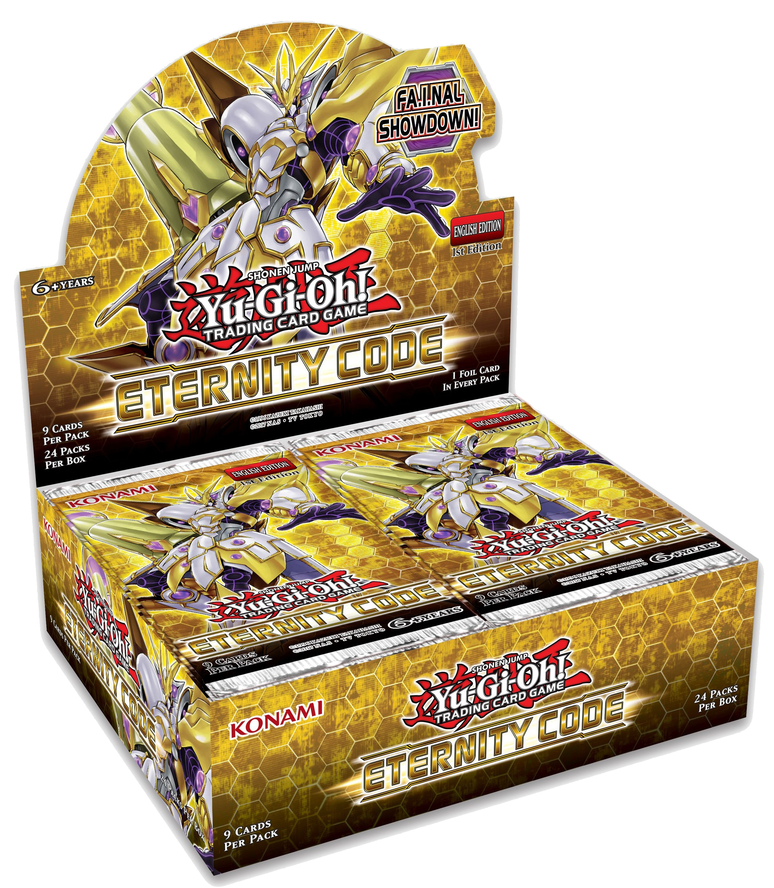 Yu-Gi-Oh Eternity Code 1st Edition Booster Box