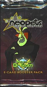 Neopets Card Game TCG Return of Dr. Sloth Booster Pack