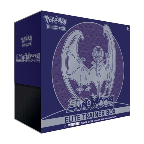 Pokemon Sun & Moon SM1 Elite Trainer Box: Lunala