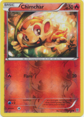 Chimchar - 15/135 - Common - Reverse Holo