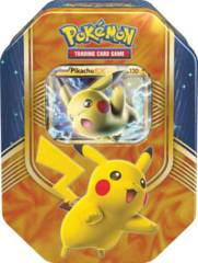 Pokemon Battle Heart Tin - Pikachu EX