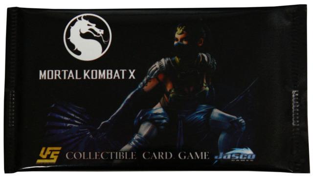 Mortal Kombat CCG Round 1 Booster Pack