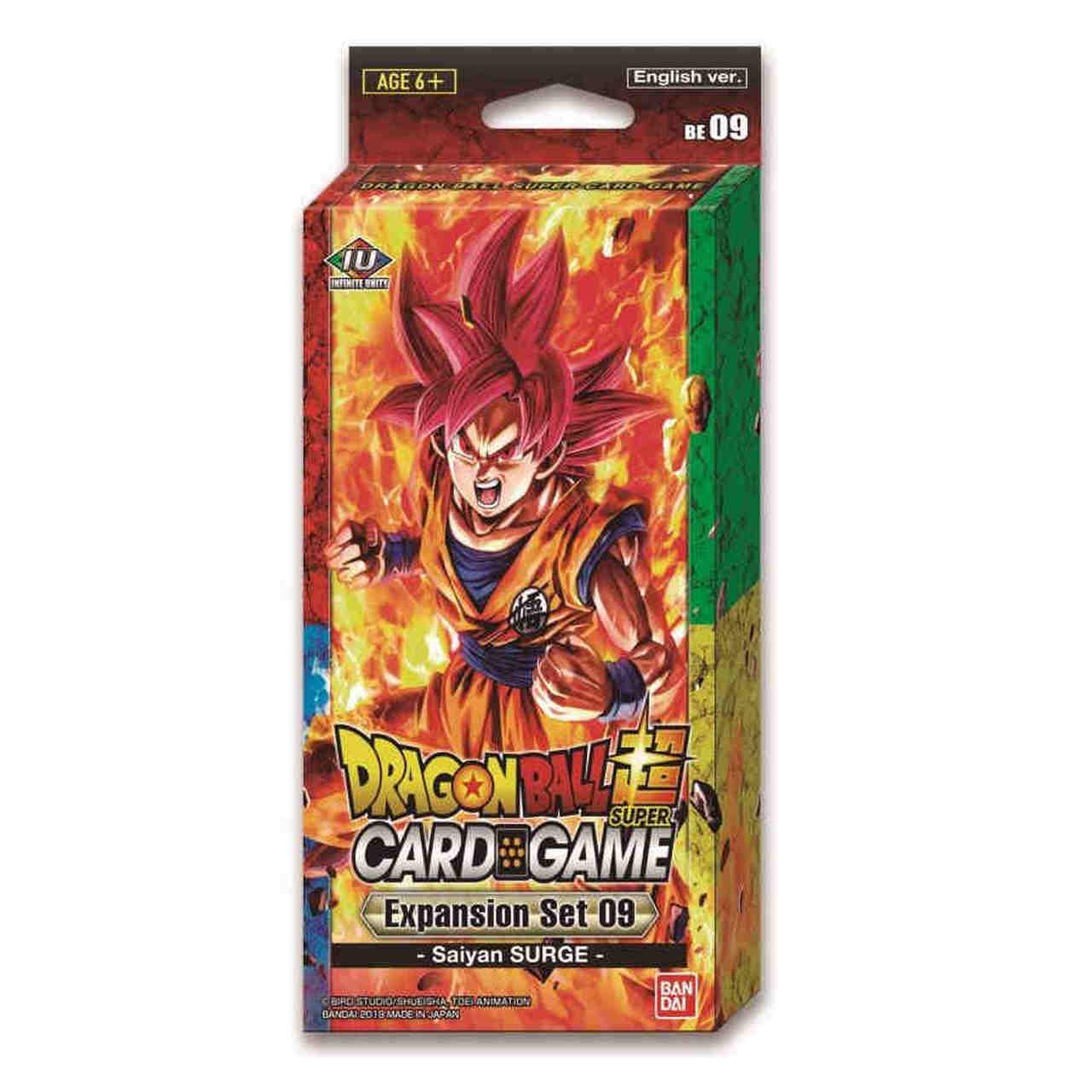 Dragonball Z Saiyan Saga Series Collectible Card Game Hero Starter Deck Toy