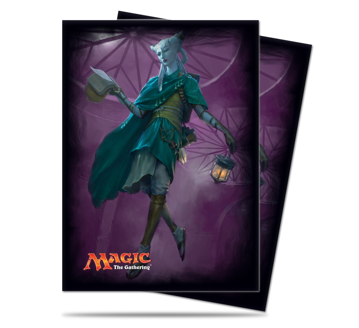 Ultra Pro Standard Size MTG Eldritch Moon Sleeves - Tamiyo, Field Researcher - 80ct