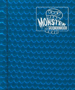 Monster Protectors 2-Pocket Binder - Holo Blue