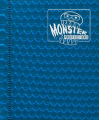2-Pocket Monster Binder - Holo Blue