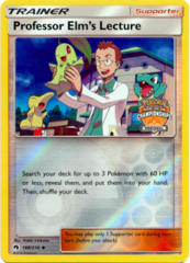 Professor Elms Lecture 188/214 Reverse Holo Promo - 2018 Regional Championships