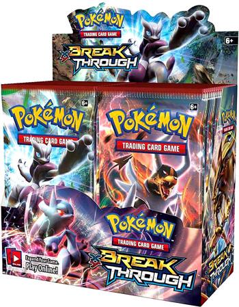Pokemon XY8 BREAKThrough Booster Box