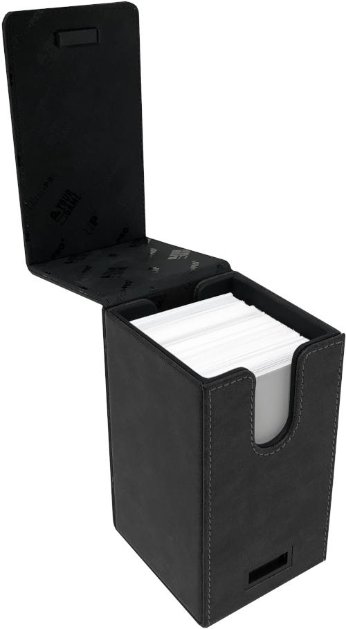 Ultra Pro Alcove TOWER Deck Box - Suede Jet