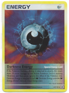 Darkness Energy (Special) - 129/132 - Common - Reverse Holo