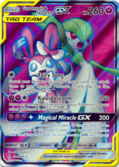 Gardevoir & Sylveon Tag Team GX - 204/214 - Full Art Ultra Rare
