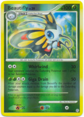 Beautifly - 19/130 - Rare - Reverse Holo