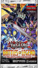 Yu-Gi-Oh Battles of Legend: Relentless Revenge 1st Edition Booster Pack