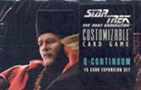 Star Trek CCG Q Continuum Booster Box