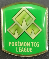 TCG Sinnoh League Forest Badge - Eterna City