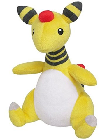 Japanese Pokemon Ampharos 7.5 Plush PP28