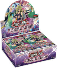 Yu-Gi-Oh Legendary Duelists: Sisters of the Rose Booster Box