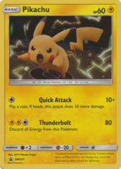 Pikachu SM227 Holo Promo - 2019 Fall Collector Chest Tin