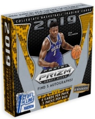 2019 Panini 1st Off The Line (FOTL) Prizm Draft Picks Collegiate Basketball Hobby Box
